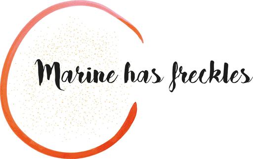 Marine Has Freckles