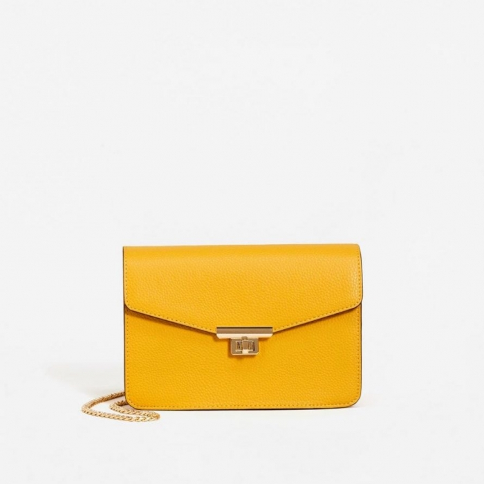 sac jaune moutarde mango
