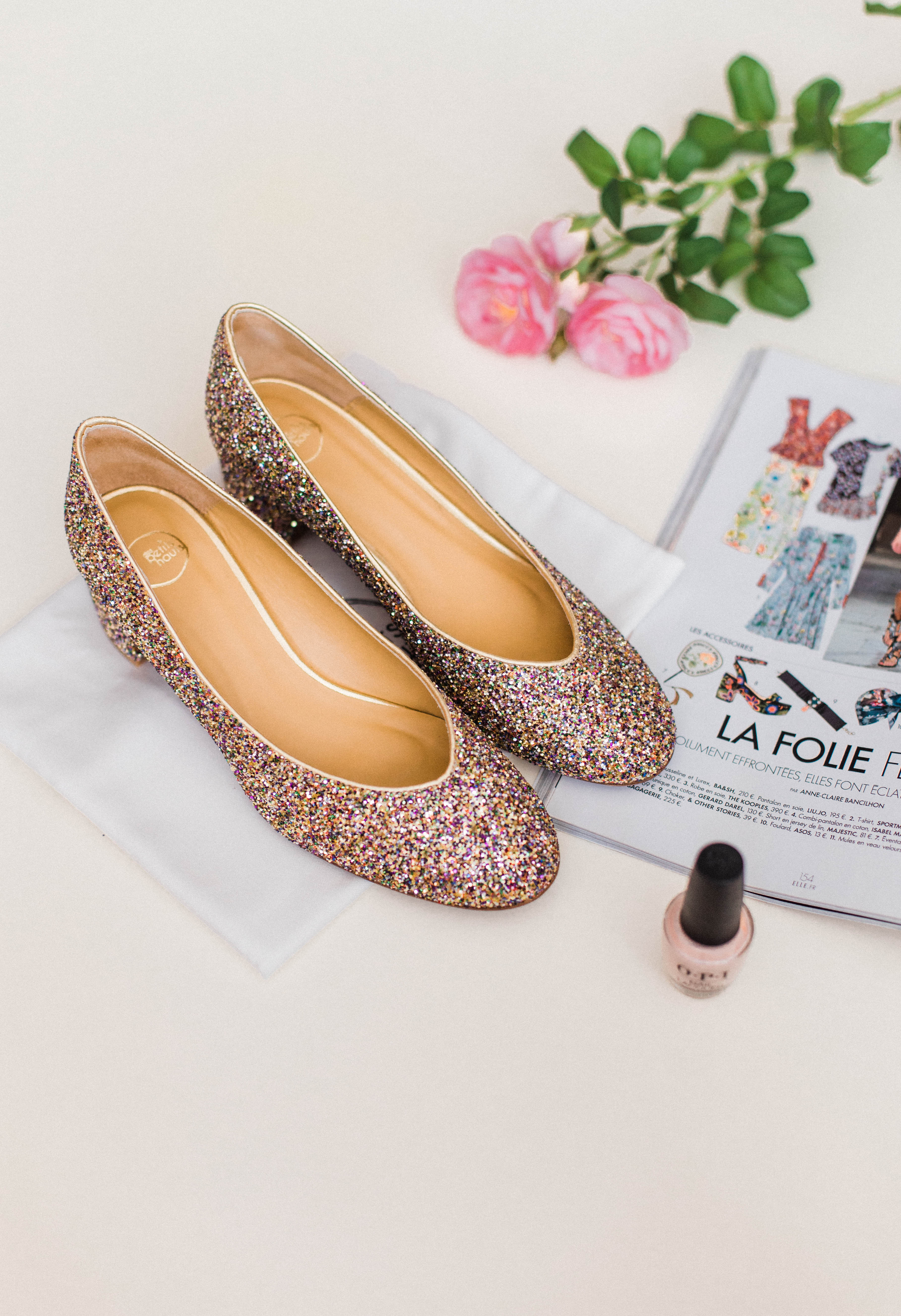 Chaussures à paillettes Des Petits Hauts