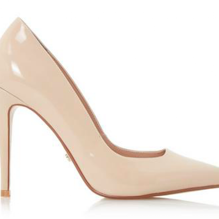 DUNE LONDON NUDE PUMPS AIYANA