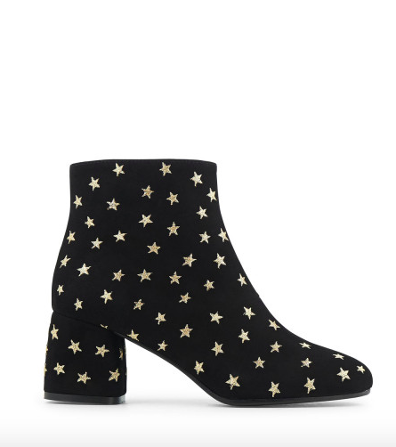 Star Embroidered Booties