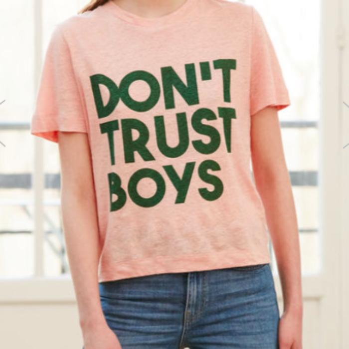 Claudie Pierrot T-shirt Don't Trust Boys