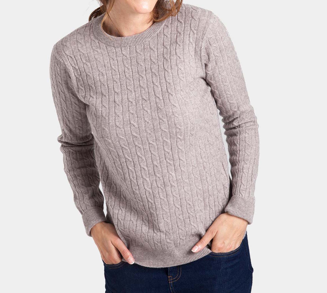 WoolOvers Cashmere Luxourious Pullover
