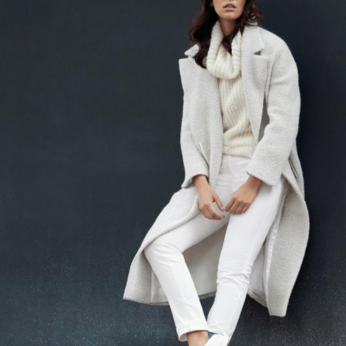 Long Winter Coat Winter Whites