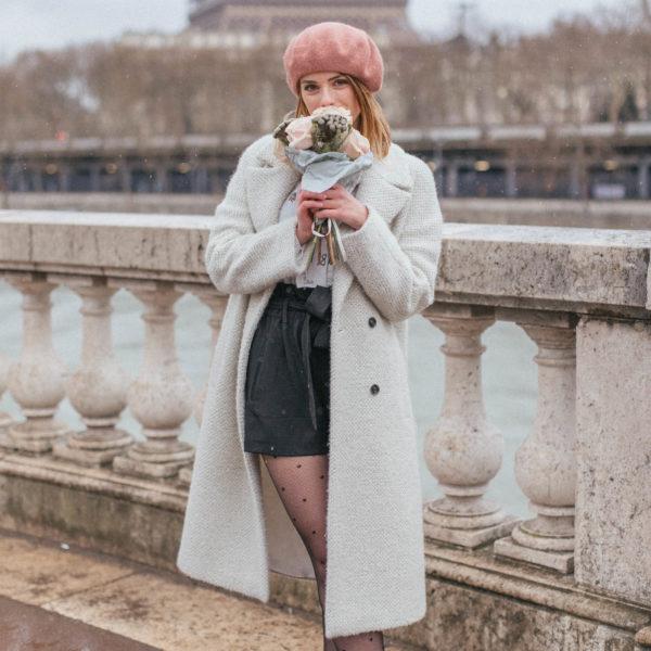 A Romantic Parisian Look