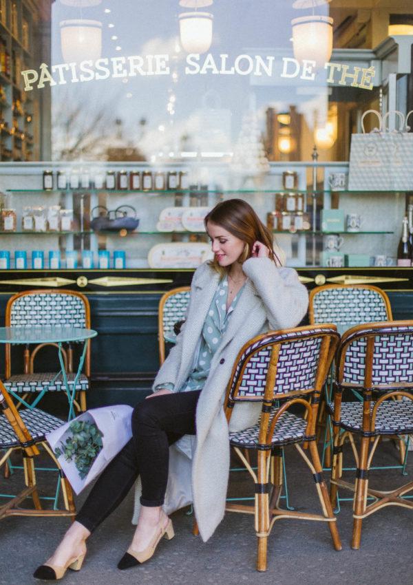 Grey, Black & Mint For A Tea Time In Paris