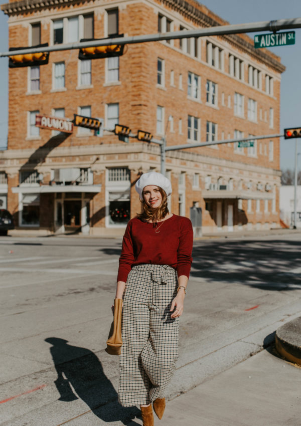 A French Inspired Outfit With Retro Vibes