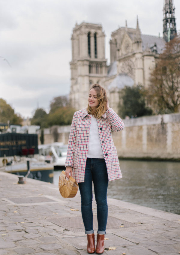 Brown Booties & A Fall Outfit In Paris