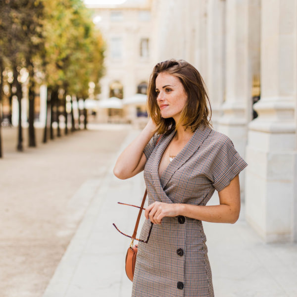 My Favorite Way To Wear Gingham For Fall